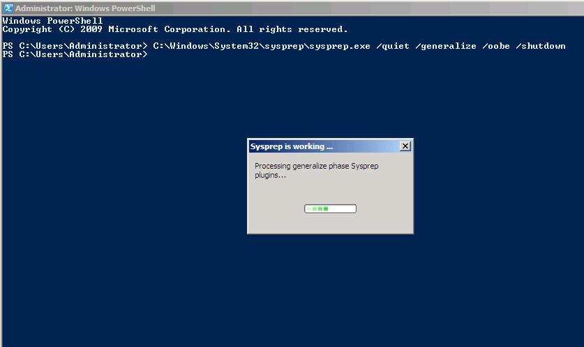 How to sysprep Windows 2008 server R2 or Windows 7 – Angelo